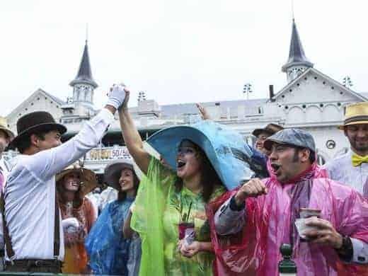 Rainy Kentucky Derby