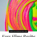 Basic Slime Recipe PIN