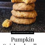 Pumpkin Snickerdoodles Cookies PIN (1)