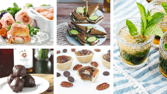 Kentucky Derby Party Food Roundup Collage