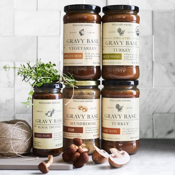 Jars of Williams Sonoma Gravy Base