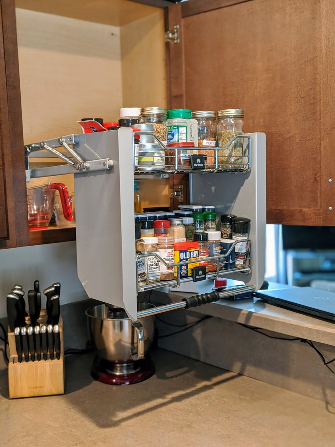 How To Organize Your Kitchen Rev A Shelf Review Southern Cravings