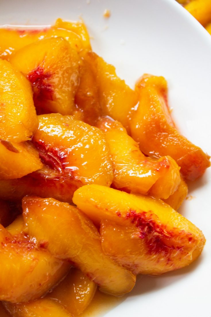 How to Freeze Fresh Peaches